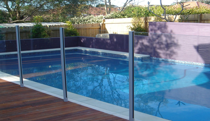 glass pool fenicng brisbane