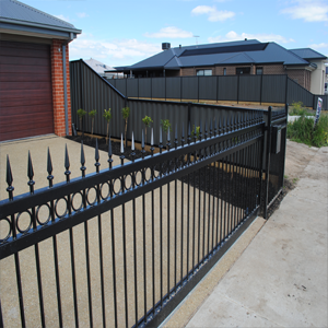 Steel Fencing Brisbane